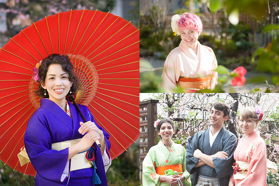 planA Shooting in the japanese garden
